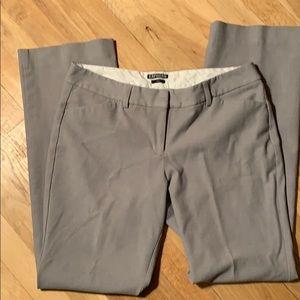 Gray Express Editor Dress Pants
